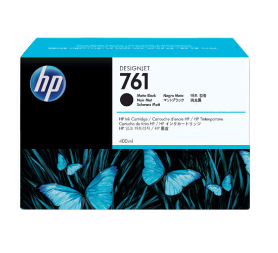HP CM991A Matte Black Ink Cartridge №761