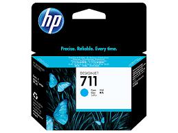 HP CZ130A Cyan Ink Cartridge №711