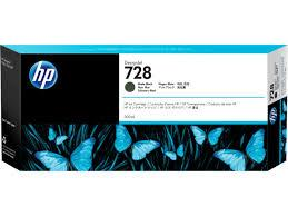 HP F9J68A 728 300-ml Matte Black Ink Crtg