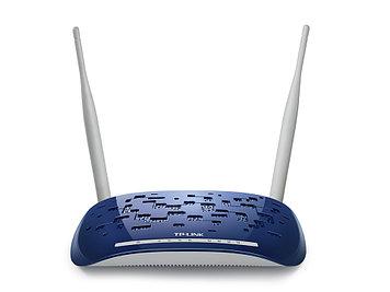 Модем беспроводной ADSL2+ 300M Tp-Link TD-W8960N(RU)
