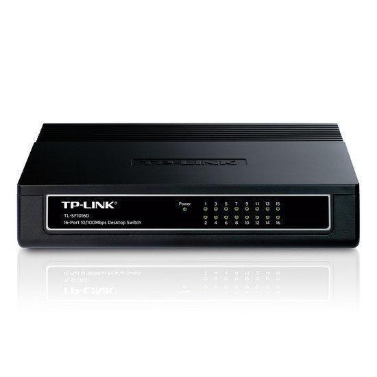 Коммутатор 16-портовый Tp-Link TL-SF1016D