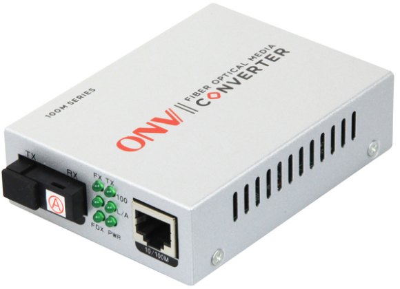 Оптический медиаконвертер WDM ONV0110S-SCX-O <комплект, 100BASE-TX to 100BASE-FX