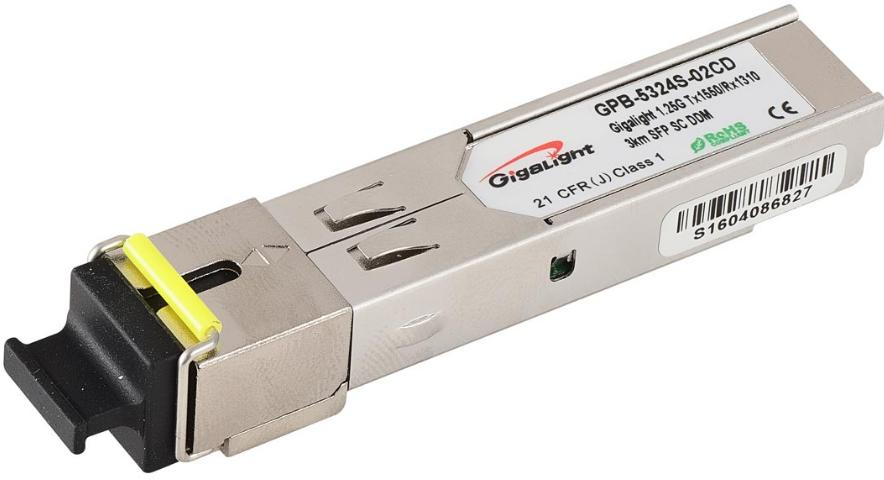 Оптический транссивер GbE SFP WDM