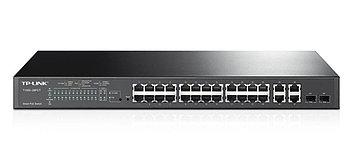 Коммутатор PoE+ Smart 24-портовый Tp-Link T1500-28PCT