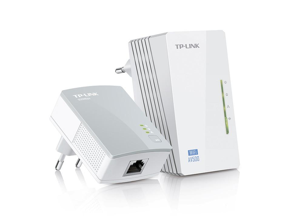 Сетевой адаптер Powerline Tp-Link TL-WPA4220 KIT