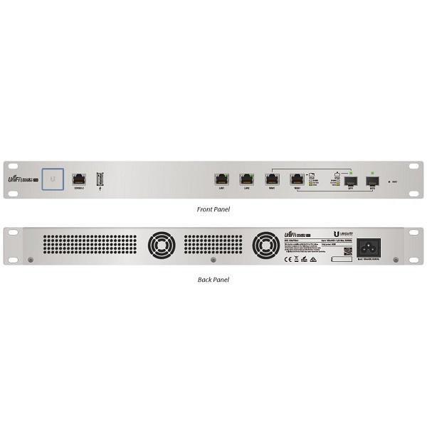 Межсетевой экран Ubiquiti USG-PRO-4 UniFi Security Gateway, PRO, 4-Port