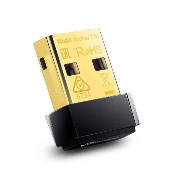 Сетевой адаптер беспроводной USB AC450 Tp-Link Archer T1U