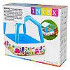 "Надувной бассейн Intex с навесом ""Домик"", 157х157х122 см, Intex 57470, фото 3"