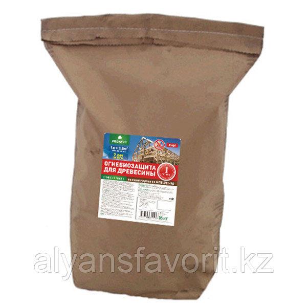 ОГНЕБИО PROF- огнебиозащитная пропитка для древесины. 16 кг. РФ
