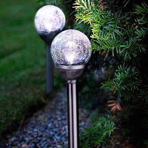 Светильник садовый «Шар в паутинке» на солнечных батареях ЕВРОМЕЙТ ГмбХ