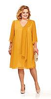 Платье Pretty-805/7, желтые тона, 50