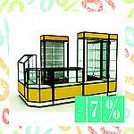 Акция скидки на витрины 7%