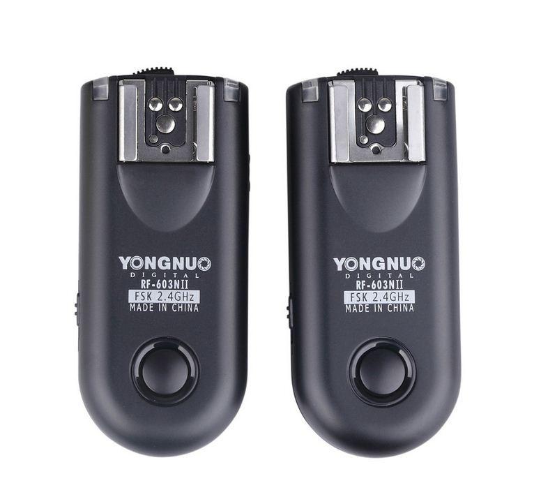 YONGNUO RF-603N I/II/III Комплект Радио-синхронизаторов  на Nikon (1+1)