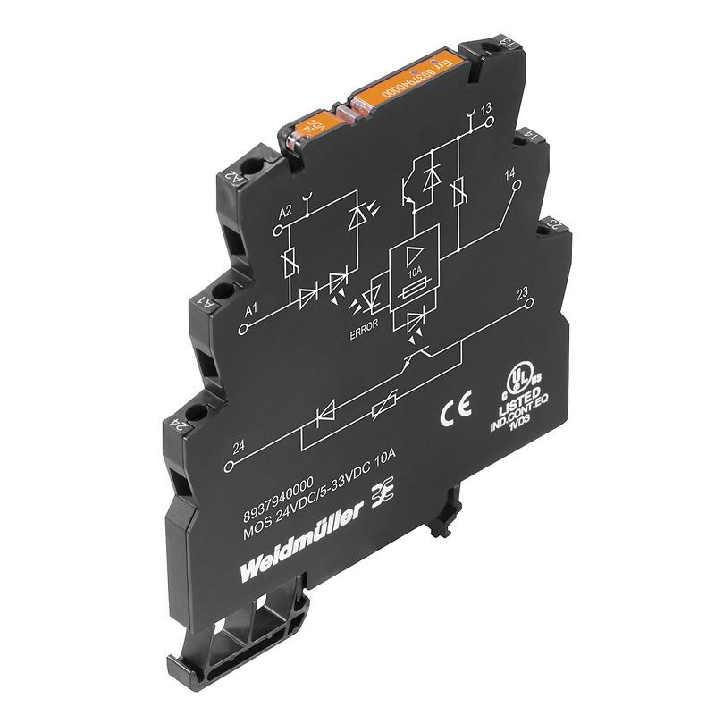 Твердотельные реле MOS 24VDC/5-33VDC 10A