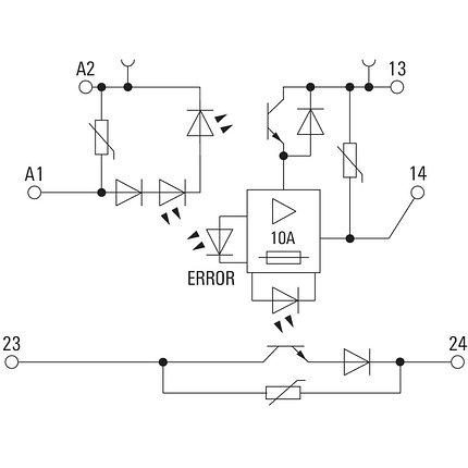 Твердотельные реле MOS 24VDC/5-33VDC 10A, фото 2