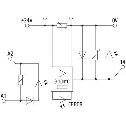 Твердотельные реле MOS 24VDC/8-30VDC 2A E, фото 2