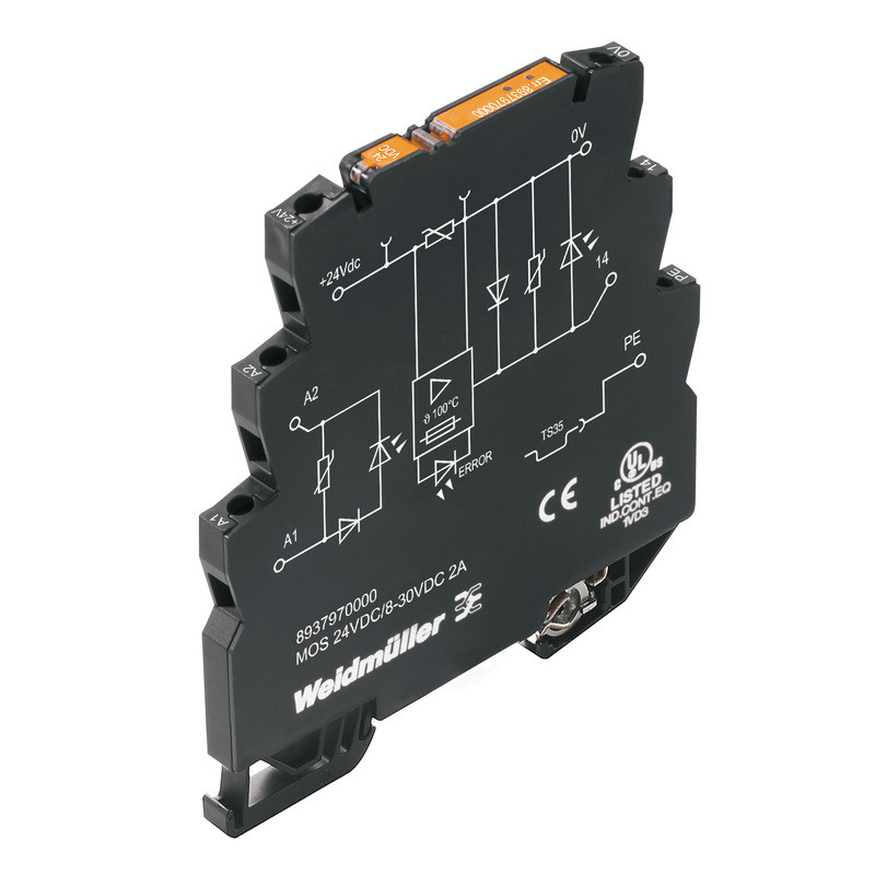 Твердотельные реле MOS 24VDC/8-30VDC 2A