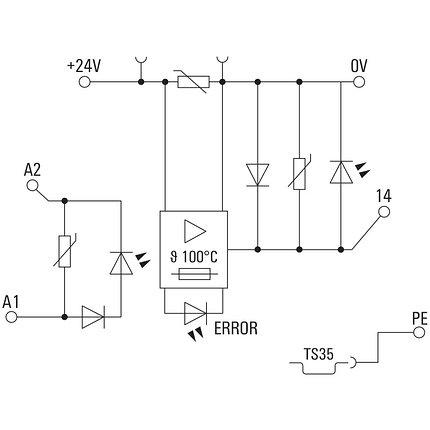 Твердотельные реле MOS 24VDC/8-30VDC 2A, фото 2