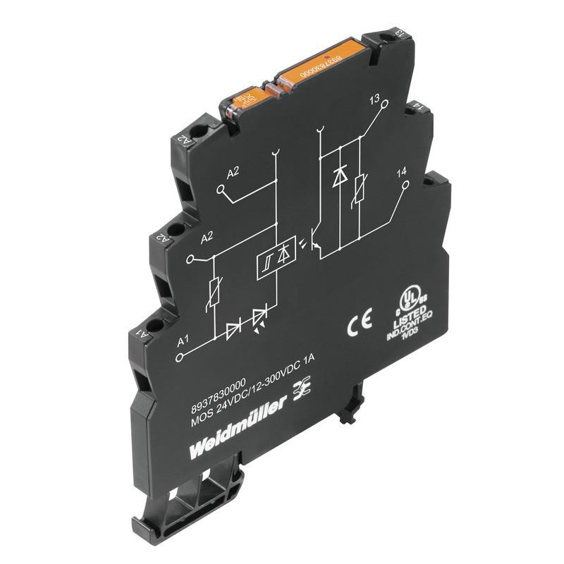 Твердотельные реле MOS 24VDC/12-300VDC 1A