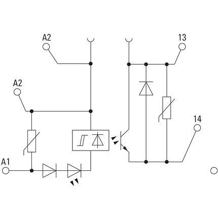Твердотельные реле MOS 24VDC/12-300VDC 1A, фото 2