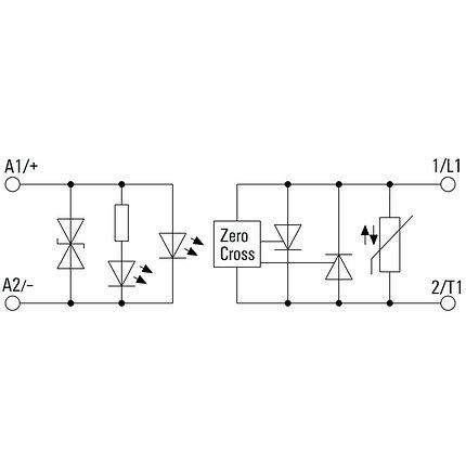 Твердотельные реле PSSR 24VDC/1PH AC 35A, фото 2