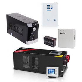Аккумуляторы, блоки питания, источники бесперебойного питания, инверторы и стабилизаторы.