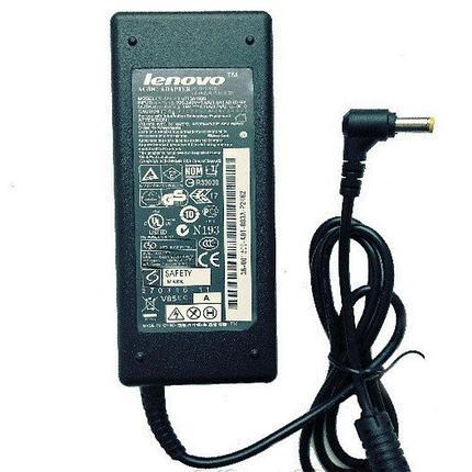 Зарядка для ноутбука Lenovo 20v, 4.5А, 5.5x2.5 мм, фото 2