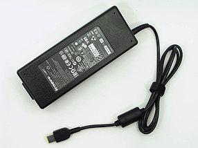 Зарядка для ноутбука Lenovo 20v, 6.75А, USB (прямоугольный разъем)