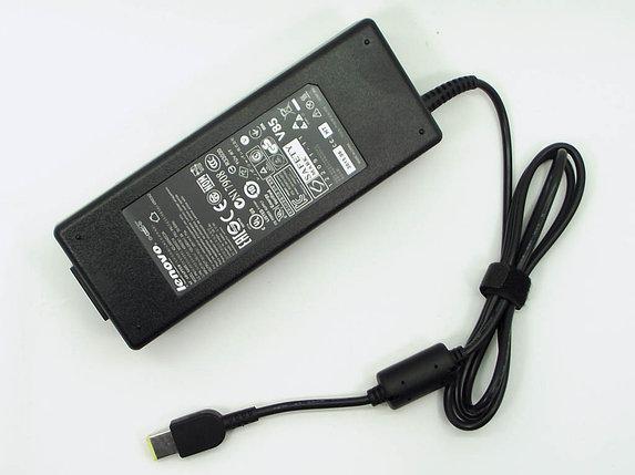 Зарядка для ноутбука Lenovo 20v, 6.75А, USB (прямоугольный разъем), фото 2