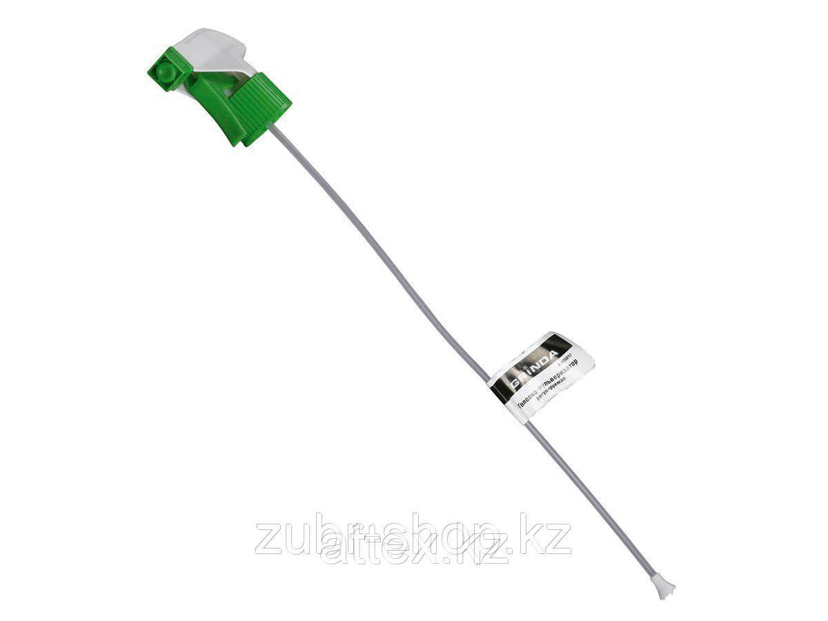Головки-пульверизаторы регулируемые GRINDA для пластиковых бутылок, цвет зеленый/белый 8-425012_z01