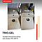 Моющее отбеливающее средство для сантехники с содержанием хлора TRIO-GEL, фото 3