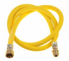Рукав д/газа 1.2м1/2 В-Н желтый D10