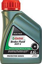 Тормозная жидкость CASTROL BRAKE FLUID DOT 4 0,5L