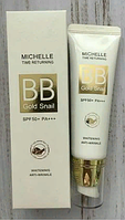 ББ крем Michelle BB Gold Snail Time Returning SPF50+/PA+++50g. (№21 Natural Beige)