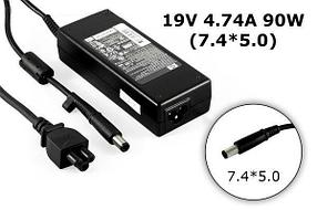 Зарядка для ноутбука HP 19v, 4.74А, 7.4x5.0 мм