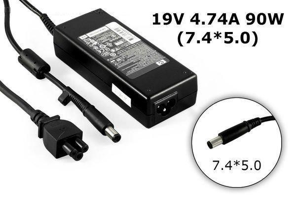 Зарядка для ноутбука HP 19v, 4.74А, 7.4x5.0 мм, фото 2