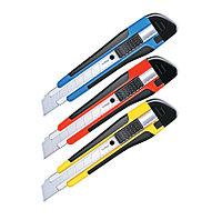 """Нож канцелярский Berlingo """"Comfort"""" 18 мм, усиленный, 2 запасных лезвия"""