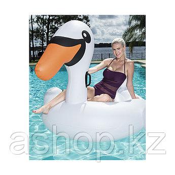 Надувная игрушка Bestway Лебедь, 2 места,, Нагрузка: 120кг, Воздушных камер: 2, Винил, Цвет: Белый