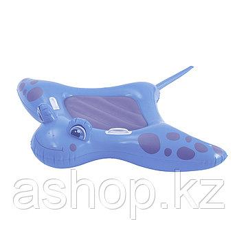 Надувная игрушка Bestway Скат, 1 место Возрост: От 3 лет, Винил, Цвет: Голубой и зеленый
