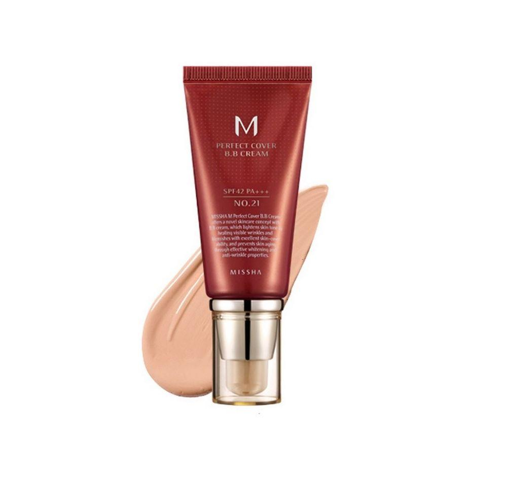 ББ крем Missha Perfect Cover BB Cream
