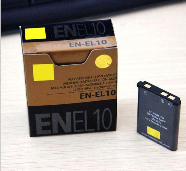 Аккумуляторы EN-EL10 (аналог) на Nikon  D60 D40 D40X D3000 D5000