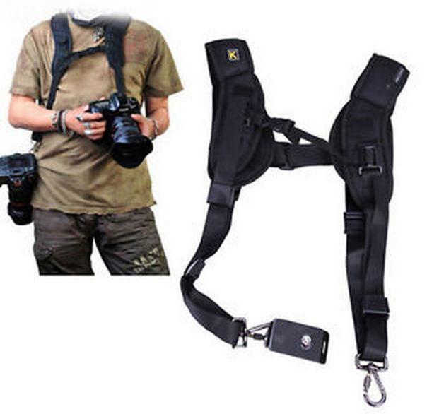 Ремень для 2-х фотоаппаратов или аксессуаров