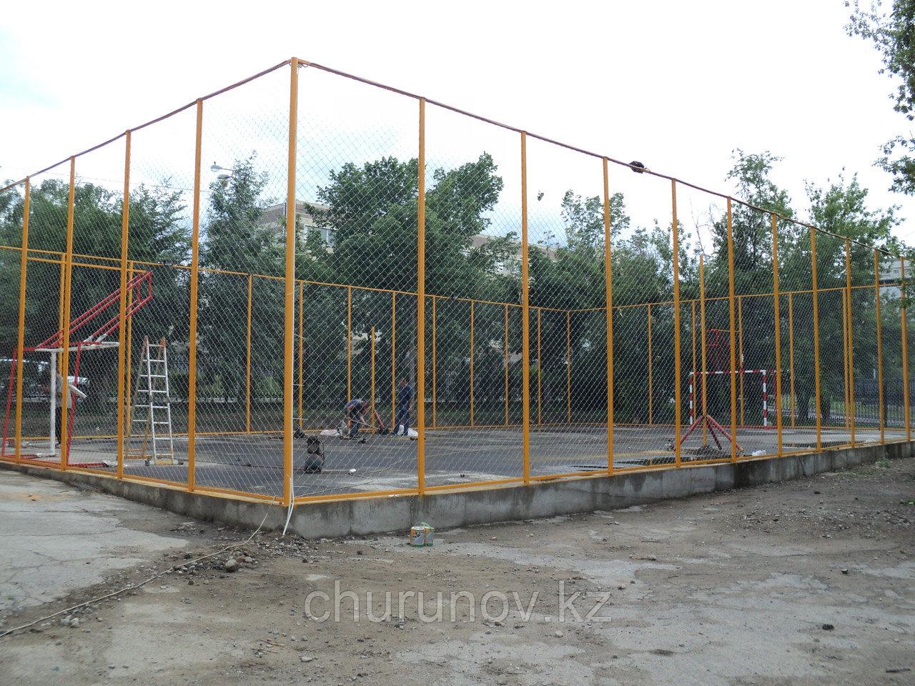 Ограждение для волейбольных полей