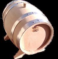 Бочка дубовая 5 литров обжиг сильный