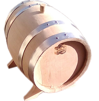 Бочка дубовая 10 литров обжиг сильный