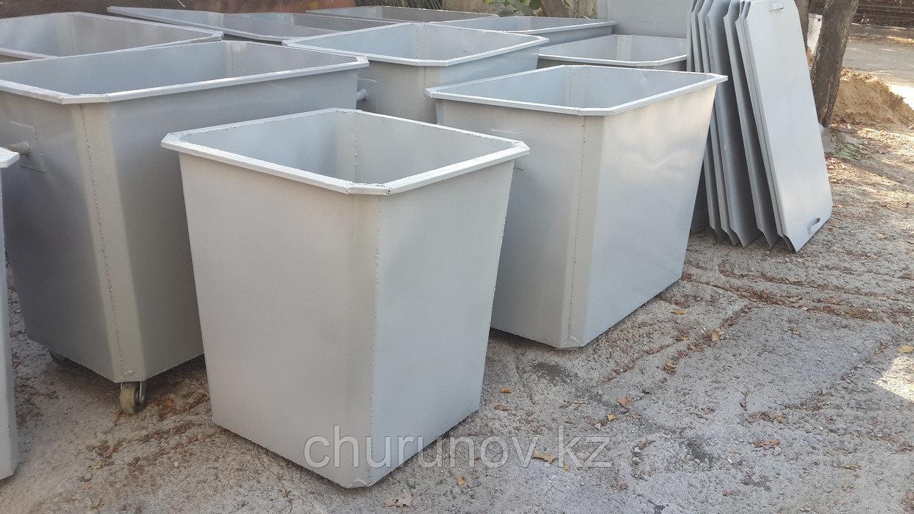 Металлический контейнер для мусора