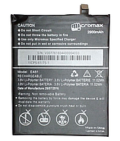 Заводской аккумулятор для Micromax E481 (2900 mAh)