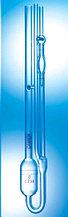 Вискозиметр Ubbelohde, размер 3C, постоянная-3 мм2/с2, кинематическая вязкость 600-3000 сСт, некалиброванный