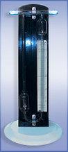 Реометр стеклянный лабораторный РДС с диафрагмой (0-4 л/мин, цена деления 0,1мм)