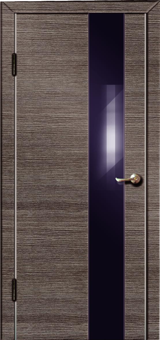 Межкомнатная дверь Модерн 504- ольха темная